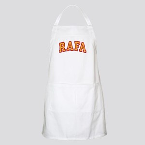 Rafa Red & Yellow Apron