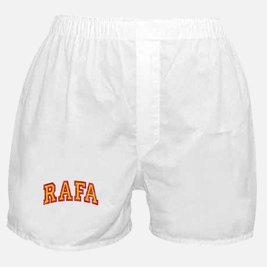 Rafa Red & Yellow Boxer Shorts