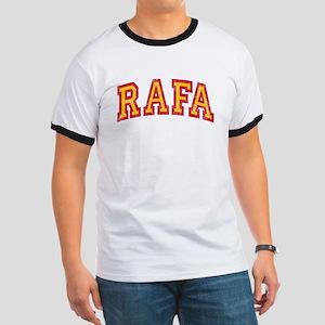 Rafa Red & Yellow Ringer T