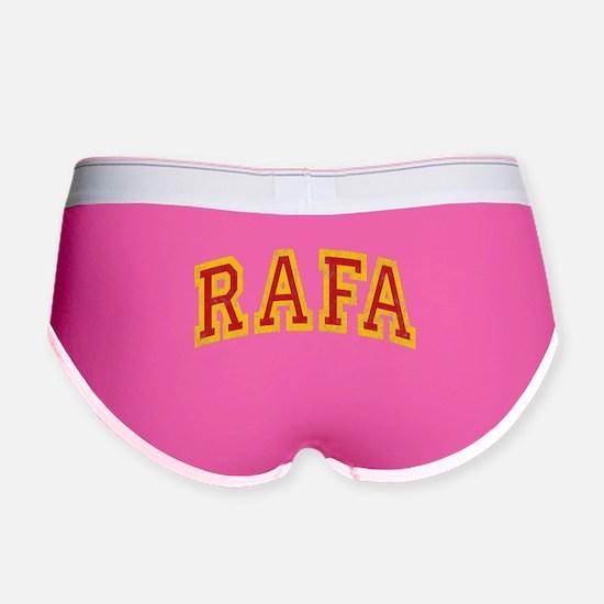 Rafa Red & Yellow Women's Boy Brief