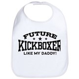Baby kickboxing Cotton Bibs