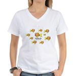 Unschooler Fish Women's V-Neck T-Shirt