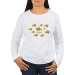 Unschooler Fish Women's Long Sleeve T-Shirt