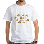 Unschooler Fish White T-Shirt