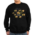 Unschooler Fish Sweatshirt (dark)