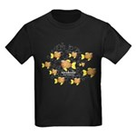 Unschooler Fish Kids Dark T-Shirt