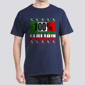 100% Percent Italian Dark T-Shirt