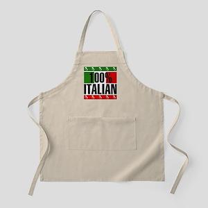100% Percent Italian BBQ Apron