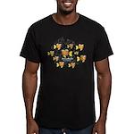 Homeschooler Fish Men's Fitted T-Shirt (dark)