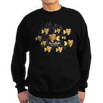 Homeschooler Fish Sweatshirt (dark)