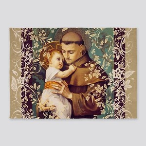 Saint Anthony 5'x7'Area Rug