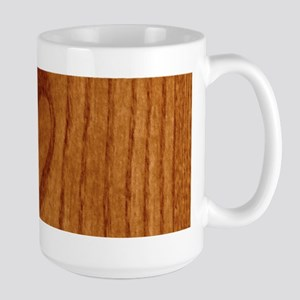 Wood Heart Large Mug