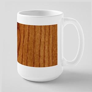 Wood Heart Large Mug