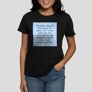 douglas macarthur Women's Dark T-Shirt