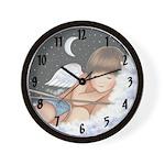 Cupid Sleeping Wall Clock