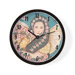 Garden Angel Clocks Wall Clock