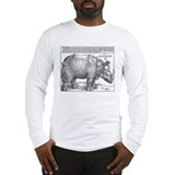 Durer rhino Long Sleeve T-shirts