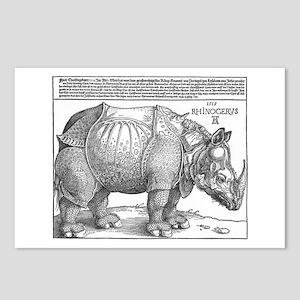 Durer Rhino Postcards (Package of 8)