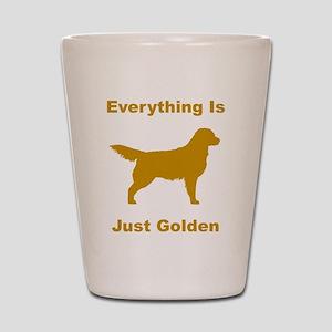 Just Golden Shot Glass