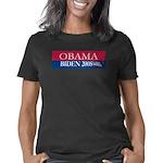 Obama-Biden_Bumper sticker Women's Classic T-Shirt