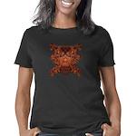 Orange Skull Women's Classic T-Shirt
