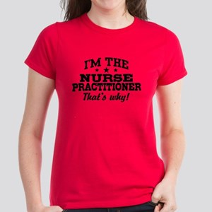 Funny Nurse Practitioner Women's Dark T-Shirt