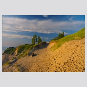 Footprints in the sand, Sleeping Bear Dunes Nation
