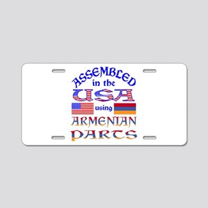 USA / Armenian Parts Aluminum License Plate