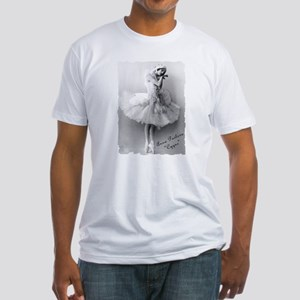"Anna Pavlova, ""Cygne"" Fitted T-Shirt"