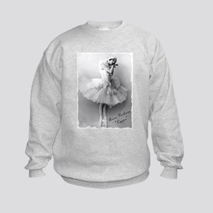 "Anna Pavlova, ""Cygne"" Kids Sweatshirt"