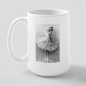 """Anna Pavlova, """"Cygne"""" Large Mug"""