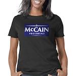 McCain-2008_Dark_T-Shirt  Women's Classic T-Shirt