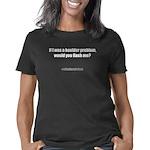 boulderproblem_CPDark Women's Classic T-Shirt