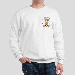 Funny Airedale Terrier Pocket Sweatshirt