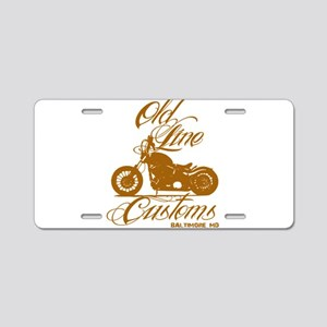 OLD LINE CUSTOMS *NEW* Aluminum License Plate