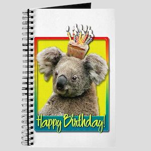 Birthday Cupcake - Koala Journal