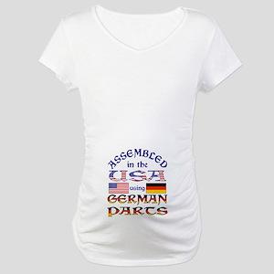 USA / German Parts Maternity T-Shirt