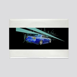 FAST CARS Rectangle Magnet