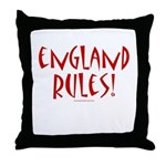 England Rules! - Throw Pillow