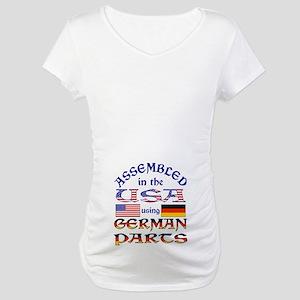 USA / German Parts 2b Maternity T-Shirt
