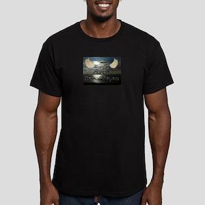 Prayer Warriors Unite! Men's Fitted T-Shirt (dark)
