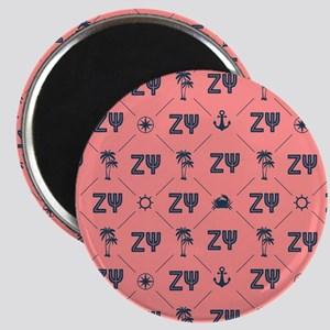 Zeta Psi Pattern Magnets