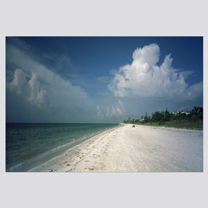Clouds over the beach, Lighthouse Beach, Sanibel I