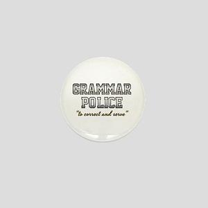 Grammar Police - Correct & Serve Mini Button