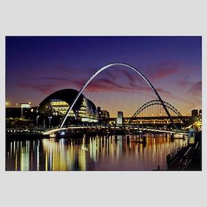 Bridges across a river, Tyne River, Newcastle Upon