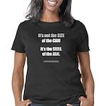 sizeofthecamV2_CPDark Women's Classic T-Shirt
