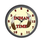 Indian Time Wall Clock