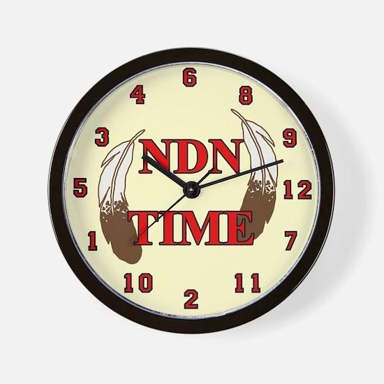 NDN Time Wall Clock