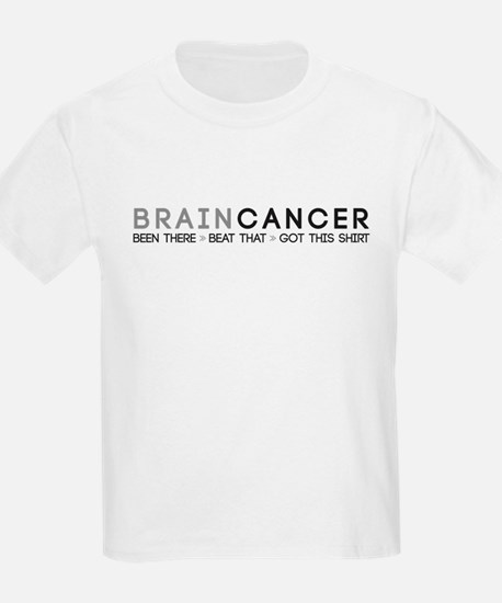 Brain Cancer: Been There, Beat That T-Shirt