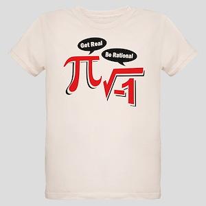 Get Real Be Rational Organic Kids T-Shirt